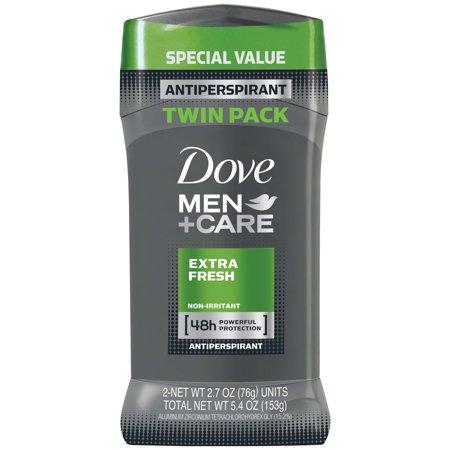 Dove Picks (Dove Men+Care Antiperspirant Deodorant Stick Extra Fresh 2.7 oz, Twin)