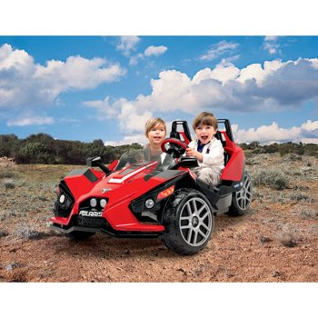 Peg Perego Polaris Slingshot Battery-Operated Ride-On