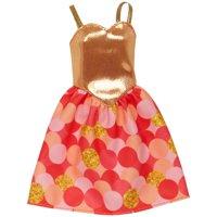 Barbie Trendy Gold Fashion Dress 13