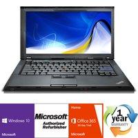 REFURBISHED Lenovo ThinkPad T410 i5 2.4GHz 8GB 320GB CMB Windows 10 Pro 64 Laptop Computer