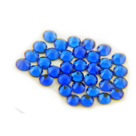 Threadart Machine Cut Hot Fix Rhinestones SS10 (3mm) Cobalt 10 Gross (1440 stones/pkg) Hotfix Rhinestones - 25 Colors and 5 sizes available