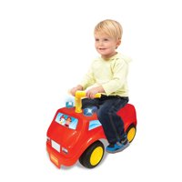 Deals on Kiddieland Lights N Sound Fire Engine Ride On 058396