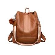 47abee636 Fashion Women Girls Retro Handbag Backpack School Travel PU Leather Shoulder  Bag