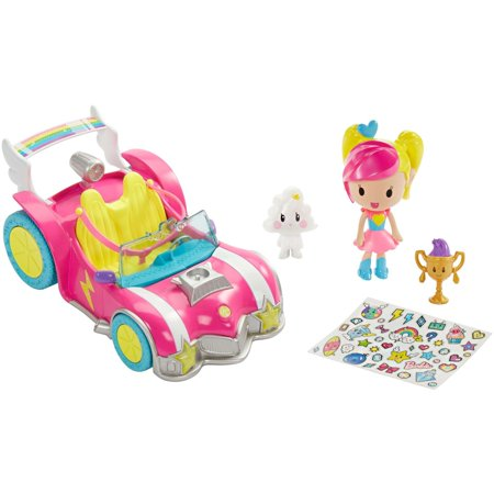 Barbie Video Game Hero Vehicle & Figure Play Set (Barbie Radio)