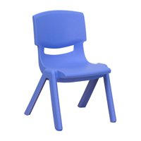 Flash Furniture 10.5'' Plastic Stackable School Chair, Multiple Colors