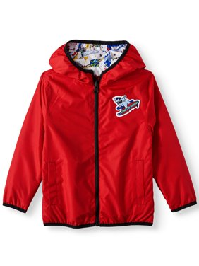 Reversable Solid/Print Windbreaker (Little Boys & Big Boys)