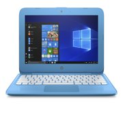 "HP 11-AH011WM 11.6"" Laptop Intel Celeron N3060 1.6 GHz 4GB SDRAM 32GB eMMC Aqua Blue"