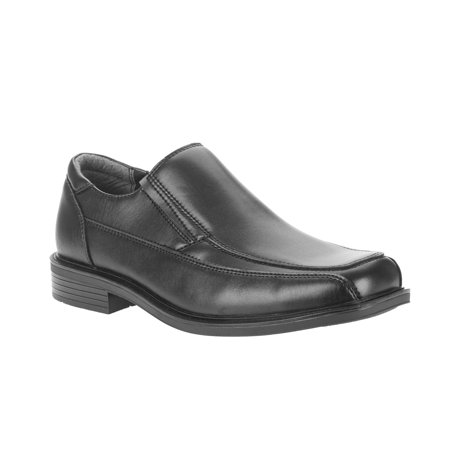 George Men's Metropolis Slip On Oxford Dress shoe (Black Leather Slip On Shoes For Men)