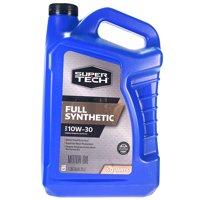 Super Tech Full Synthetic SAE 10W-30 Motor Oil, 5 Quarts