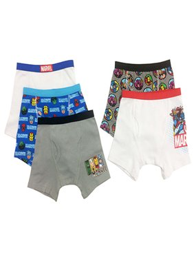 Marvel Superheroes Boys Underwear, Pack 5