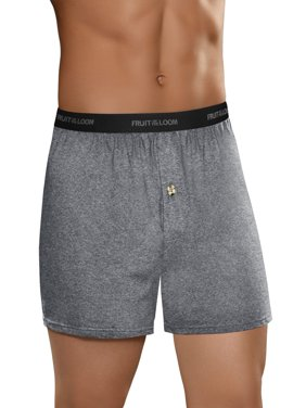 Men's Beyondsoft Assorted Knit Boxers, 5 Pack