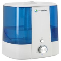PureGuardian H1175FL Top Fill Ultrasonic Humidifier Cool Mist with Aroma Tray and Bonus Decalcification Filter 1.5 Gallon
