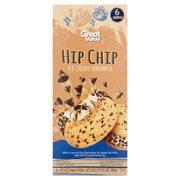 Great Value Hip Chip Ice Cream Sandwich, 4 fl oz, 6 count
