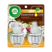 Air Wick Scented Oil 2 Refills, Paradise Retreat , (2X0.67oz), Air Freshener