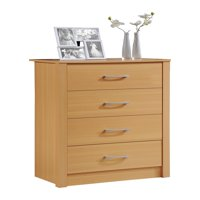 Hodedah 4-Drawer Dresser, Multiple Colors