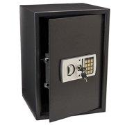 Zimtown Electronic Safe LargeSteel Security  Lock Box, Keypad with 2 Manual Override Keys