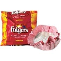 Folgers Coffee Classic Roast Ground Coffee Filter Packs, 0.9 Oz - 40 Ct