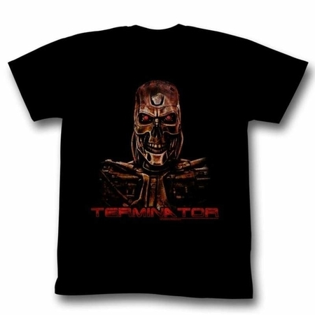 Terminator Movies Code Red Adult Short Sleeve T Shirt (Terminator Costumes For Adults)