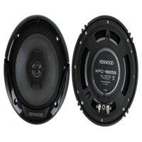 """Kenwood KFC-1665S 6.5"""" 300 Watt 2-Way Car Audio Coaxial Speakers Stereo"""