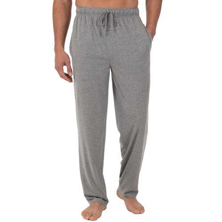 Fruit of the Loom Men's Jersey Knit Sleep Pant - Glow In The Dark Pajamas