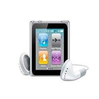 Apple iPod Nano 6th Generation 16GB Silver Excellent Condition, No Retail Packaging