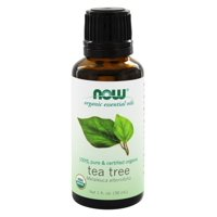 Now Foods Now Organic Essential Oils Tea Tree, 1 oz