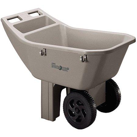 Ames 2463675 3 Cubic Feet Easy Roller Jr Lawn Cart