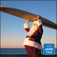 Surfing Santa Walmart eGift Card