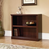 Sauder Select 2 Shelf Bookcase, Select Cherry Finish