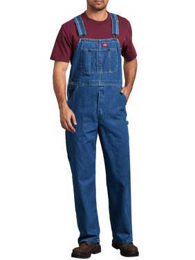 Big Men's Stonewashed Indigo Bib Overall