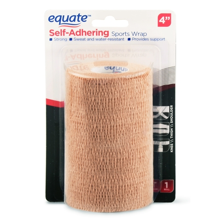 Equate Self-Adhering Sports Wrap, 4