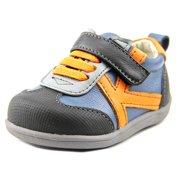 See Kai Run Leonardo Round Toe Leather Sneakers 79a8f2cef