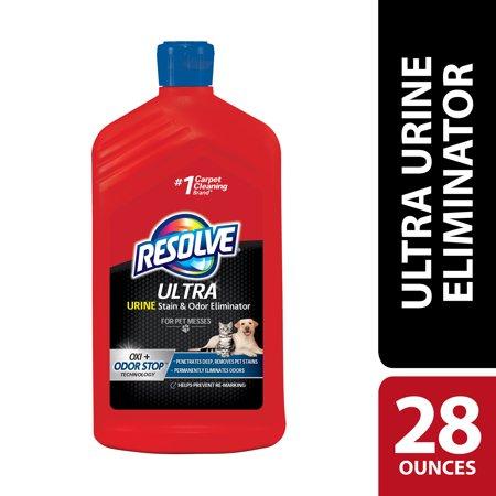 Resolve Ultra Urine Stain & Odor Eliminator For Pet Messes, 28oz
