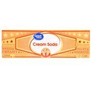 (2 Pack)Great Value Cream Soda, 144 fl oz, 12 Pack
