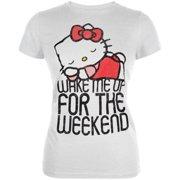 7fc3d146b Hello Kitty - Nice Nap Burnout Juniors T-Shirt
