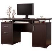Coaster Company 55 Home Office Desk With Floating Top Cuccino