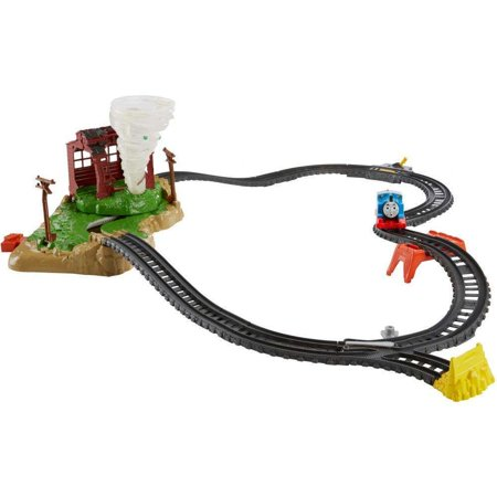Thomas & Friends TrackMaster Motorized Twisting Tornado Set ()