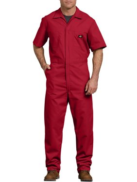 Men's Big & Tall Short Sleeve Deluxe Poplin Coverall