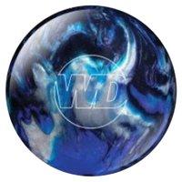 White Dot Bowling Ball- Blue/Black/Silver- 8 lbs