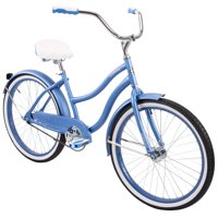 "Huffy 24"" Cranbrook Womens Comfort Cruiser Bike, Periwinkle Blue"