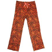 b4d5b2c44d Womens Leopard Animal Halloween Sleep Pants Cheetah   Pumpkin Pajama  Bottoms L