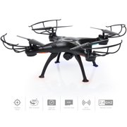Upgraded 6-Axis Headless RC Quadcopter FPV RC Drone W/ WIFI HD Camera For Real Time Video,2 Control Mode, Altitude Hold