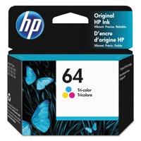 HP HP 64 (N9J89AN) High Yield Tri-Color Original Ink, 165 Page-Yield