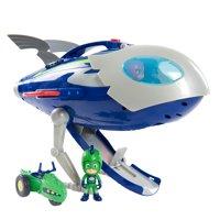 PJ Masks Super Moon Adventure HQ Rocketship Playset, Exclusive Gekko &Space Rover Included