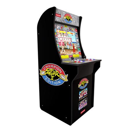 Fun Arcade Style Game (Street Fighter 2 Arcade Machine, Arcade1UP, 4ft )