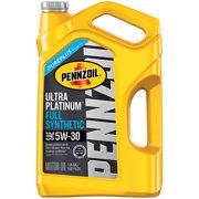 (3 Pack) Pennzoil Ultra Platinum 5W-30 Full Synthetic Motor Oil, 5 qt