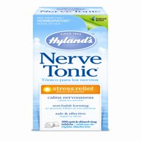 Hyland's Homeopathic Stress Relief Nerve Tonic Quick Dissolving Tablets, 500 Ct