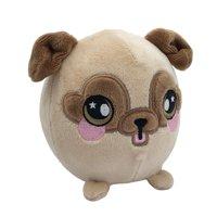 "Squeezamals, Bryce Pug - 3.5"" Super-Squishy Foam Stuffed Animal! Squishy, Squeezable, Cute, Soft, Adorable!"