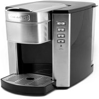 Cuisinart SS-6 Compact Single Serve Coffee Maker Brushed Stainless Refurbished