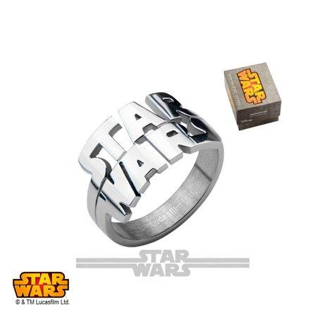 Disney Ring (Disney Stainless Steel Cutout Logo Ring )